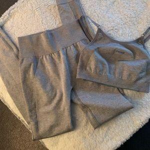 Gymshark Pants - Gymshark High Waisted Flex Set